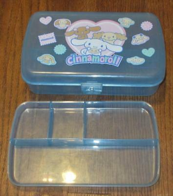 Sanrio Hello Kitty Cinnamoroll Plastic Pencil Case~Make Up~Hair Bow~Container~Ec