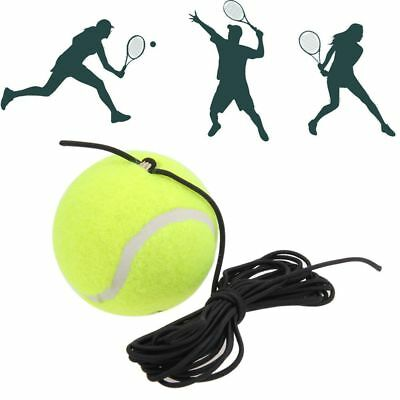 Belt with A Rubber Band Training Practice Ball Elastic Rope Tennis Balls Traine