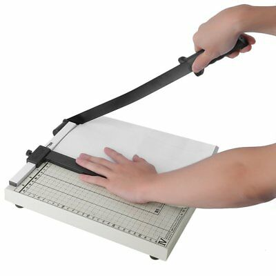 "18"" Paper Cutter A4 To B7 Wood Base Guillotine Page Trimmer Blade Scrap Booking"