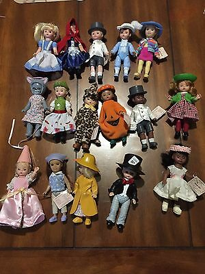 Madame Alexander Lot Of 16 Dolls Exclusively At Mcdonal's