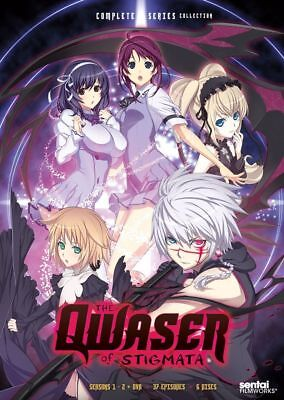 Qwaser of Stigmata: Complete Collection Complete Anime Box / DVD Set NEW!
