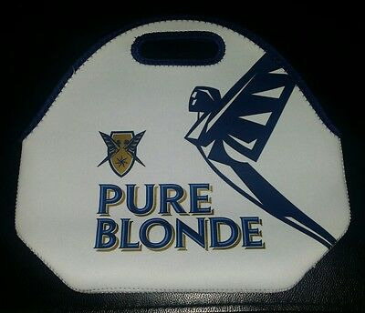 Rare Collectable Pure Blonde 6 Pack Cooler Bag Stubby Holder Brand New Unused