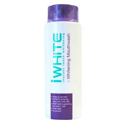 iWhite Instant Mouth Wash 500mL - Easy to use, at home teeth whitening