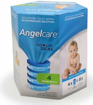 Angelcare Captiva Nappy Disposal Bin - 4 pack Refills