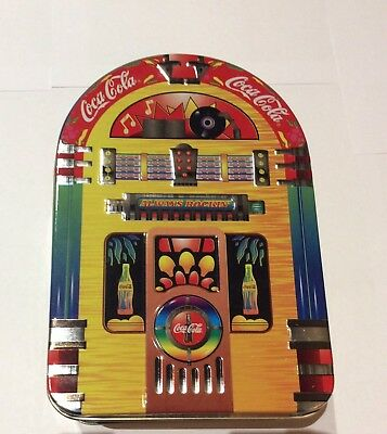 Coca-Cola Always Rockin' Jukebox Vintage Collectible Tin