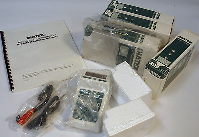 NEW DIATEK 600 Clinical Thermometer System Full Kit w/ Probes and 1000 Covers