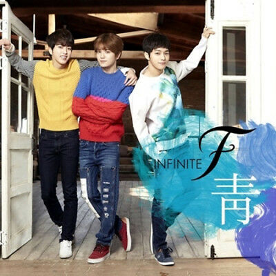 INFINITE F [靑] 1st Single Album CD+Photo Book+Photo Card K-POP SEALED