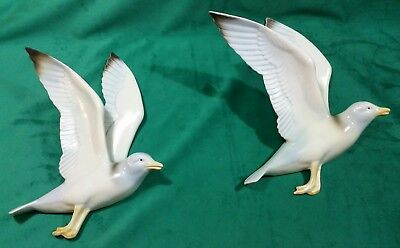 Vintage Flying Seagulls Poole pottery