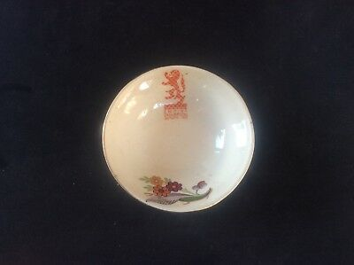 Glasgow Scottish 1938 Empire Exhibition WH GOSS Trinket Bowl Dish Floral 14