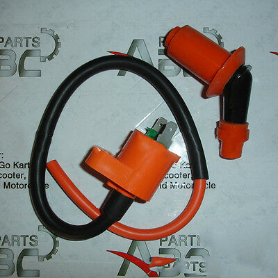 New Motorcycle Ignition Coil For GY6 Engine 150CC JIC-005 Scooter Moped ATV FW