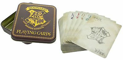 HARRY POTTER - Hogwarts - Spielkarten Kartenspiel Playingcards Jeu de Cartes OVP