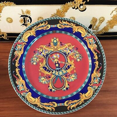 Versace Rosenthal - Le Roi Soleil Charger Plate 30Cm Retired - 100% Authentic