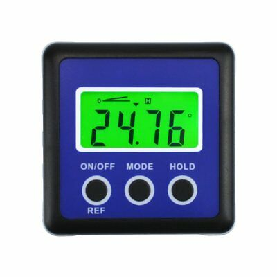 Digital Protractor Angle Gauge Finder Bevel Box Inclinometer Level Pocket Size
