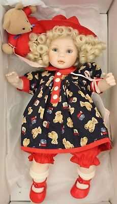Pauline's Limited Edition Doll MELANIE 12 inch Porcelain Doll BOXED COA - 207