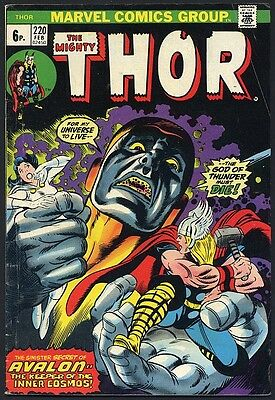 1974 THE MIGHTY THOR May #220 - Marvel Comics