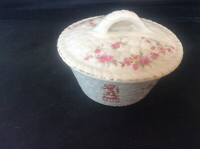 Glasgow Scottish 1938 Empire Exhibition WH GOSS Lidded Trinket Dish 37