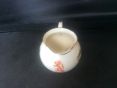 Glasgow Scottish 1938 Empire Exhibition WH GOSS Cream Milk Jug 40 Floral Design