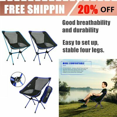Ultralight Aluminum Alloy Folding Fishing Chair For Outdoor Activities/Camping A