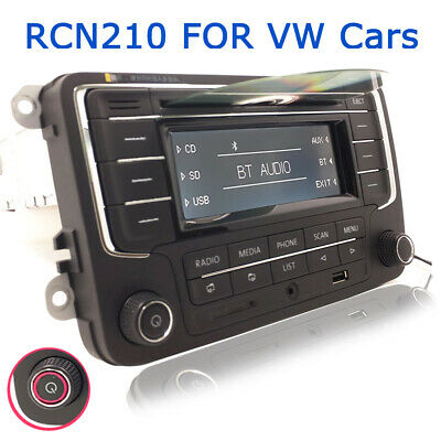 Autoradio RCN210 BT CD USB SD für VW GOLF PASSAT TIGUAN SHARAN CC CADDY POLO