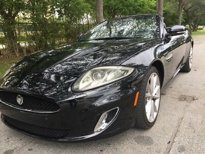 2012 Jaguar XKR XKR Convertible 2012 Jaguar XKR Supercharged Convertible Rear Parking Aid Over $100k New MSRP