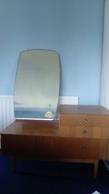 Symbol mid century dressing table with mirror