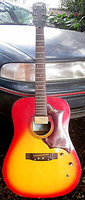 Collectors display / restorer only STAGG - Korea semia acoustic guitar - needs w