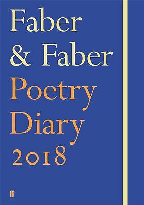 Faber & Faber Poetry Diary 2018: Royal Blue by Various Poets (Hardback, 2017)