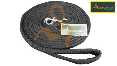 Rumani Cotton Braided Thick Horse Lead / Lunging Reins, 8mt Long