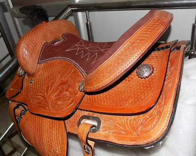 Brand Leather Jumping Hourse Saddle