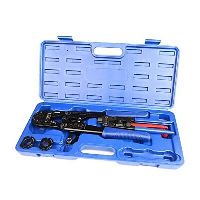 "IWISS IWS-FA PEX Pipe Crimping Tool for Crimp Jaw Sets 3/8"" 1/2"" 3/4"" 1"" with &"