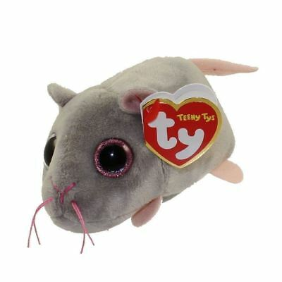 Miko Mouse - Teeny Ty - 6cm Mini TY Plush Teddy - Brand New Soft Toys