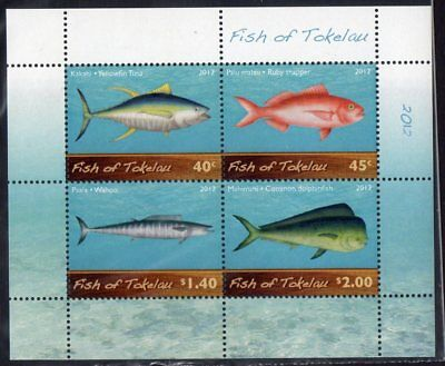 Tokelau 2012 Fish Minisheet MNH