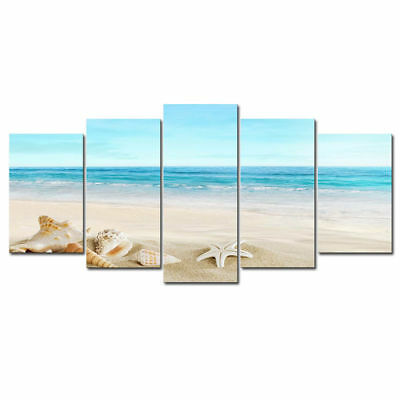 Canvas Print Wall Art Picture Paintings Home Decor Poster Seascape Beach Blue