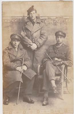 Rp Two Ww1 Soldiers Of The Suffolk Regiment , Bunbury Family Posted 1917