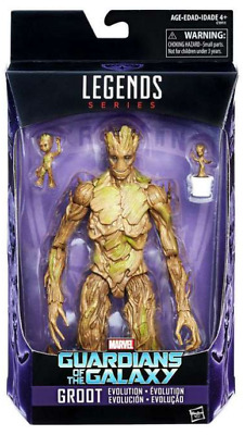 Marvel Legends Guardians Of The Galaxy Series Evolution Of Groot Tru Exclusive