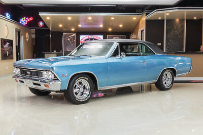 1966 Chevrolet Chevelle  Frame Off Restored SS! GM 454ci V8, Muncie 4-Speed, PS, PB, Posi, Marina Blue!