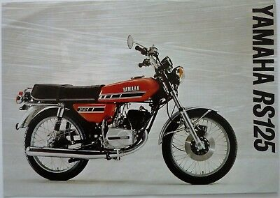 Yamaha RS125 Sales Brochure - 1977