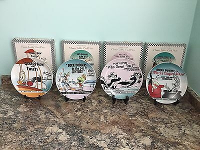 Warner Bros. Collectibles Plates Set of 4