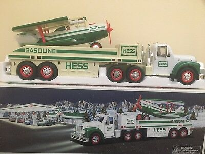 Hess Toy Truck And Airplane 2002 (New In Box)