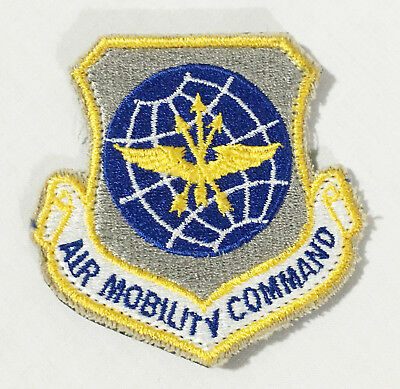 United States Air Force (USAF) Hook&Loop Air Mobility Command Patch