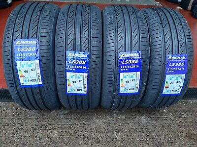 215 55 16 LANDSAIL NEW HIGH MILEAGE TOP QUALITY TYRES CHEAP x1 x2 x4
