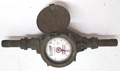 "VTG Master Meter 5/8"" Brass Water Meter # 1245286 - Never Been Installed"
