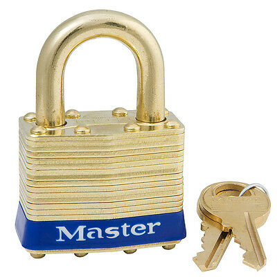 Master Lock 2KAB Padlock with Brass Body and Shackle