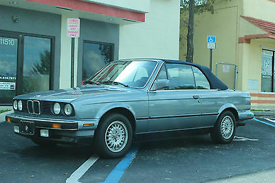1989 BMW 3-Series Base Convertible 2-Door 1989 BMW 325i Convertible 2.5L Manual Trans - Florida Car -Nicest in the market