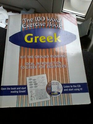 Greek: The 100 Word Exercise Book with Audio CD (PB)
