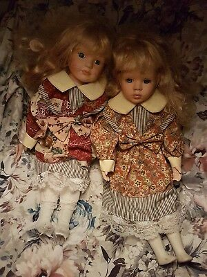 Haunted dolls /Possessed dolls- The Carey Sisters -See description for details