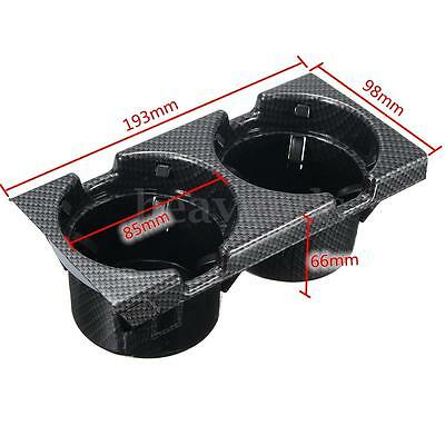 Carbon Cup Console Drink 3 Series Holder For BMW E46Center 98-06  16264_2