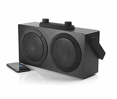 Sound Box Retro Blaster Speaker Speaker System for Smartphones - Black  #16193_2