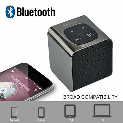 Portable Tablet Wireless Stereo Bluetooth 4.0 For SmartPhone Speaker PC #16161_2