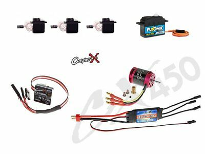 CopterX CX450-FB-PK-V1 450 Flybar Electronic Parts Package CX450SE/AE/ME CX450BA